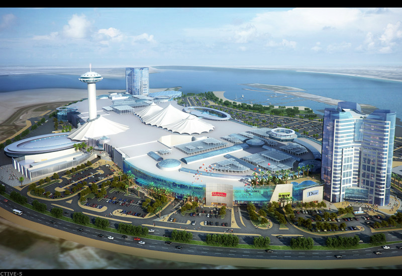 Marina Mall Abu Dhabis $817m expansion will see 300,000m2 of space added to the existing facility.