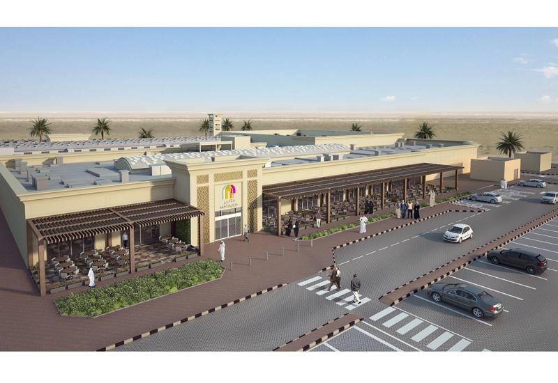 Matajer Al Juraina community mall.