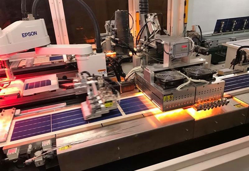 Maysun Solar has developed Jafza's first solar PV panel manufacturing facility [image: Dubai Media Office].