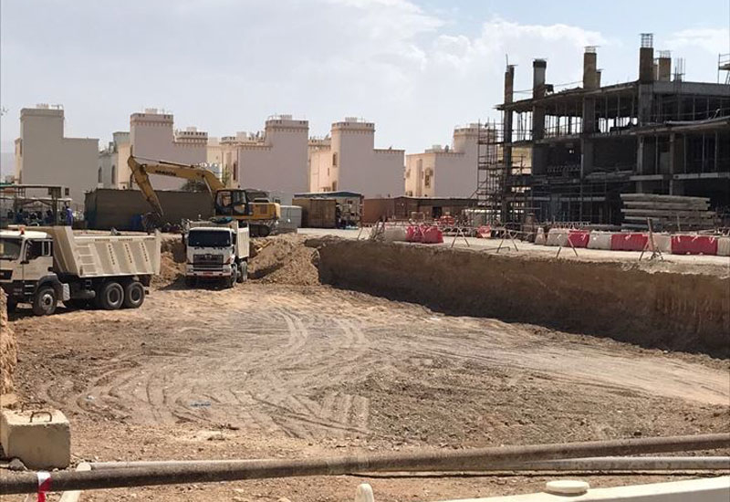 Construction of the Kuwait-owned Mazaya Residence project in Oman is 30% complete [image: mazayaholding.com].