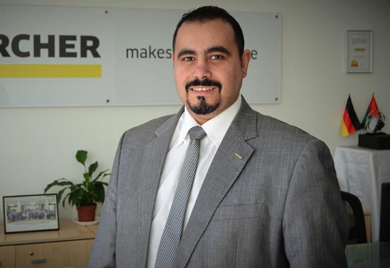 Mazen Abou Chakra, export sales director at Karcher ME.