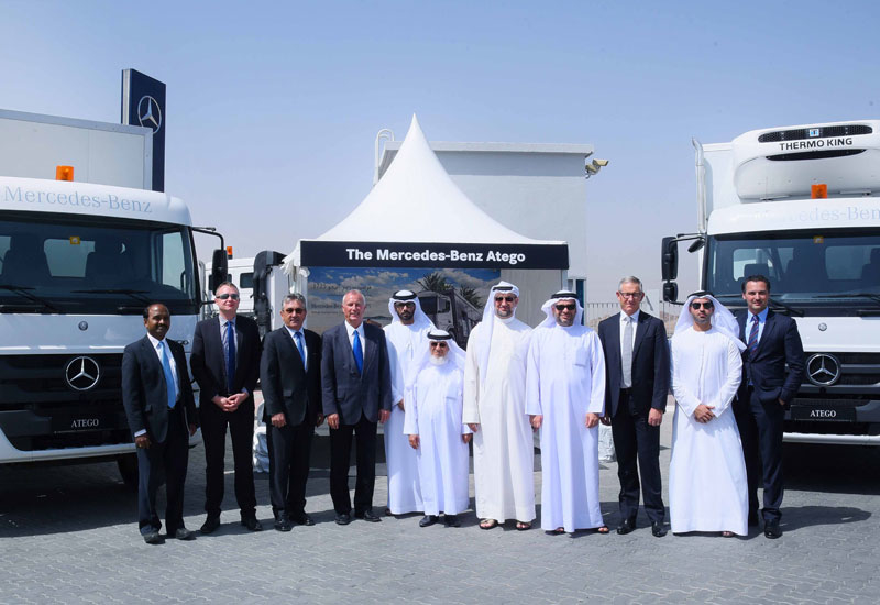Gargash Enterprises launched the Mercedes-Benz Accelo and Atego models at its service and parts centre in Fujairah, UAE.