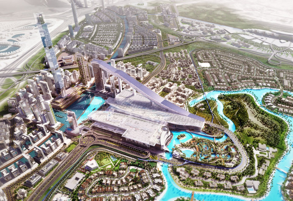 Subsequent phases of the $1.5bn Meydan One Mall project will include a water canal, a recreational port, bicycle tracks, metro line connectivity and one of the tallest residential buildings in the world.