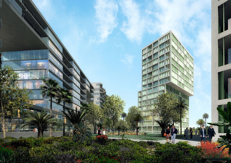Deyaar's key focus areas in the coming months will be the commencement of work on the Midtown.