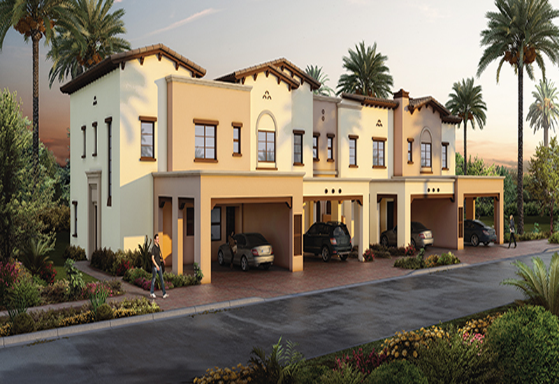 The three and four-bedroom residences are ideal for families, with each home offering ample privacy.