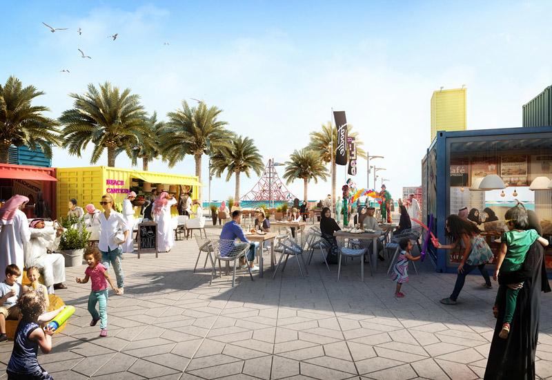 The project will include an over half a kilometre, promenade.