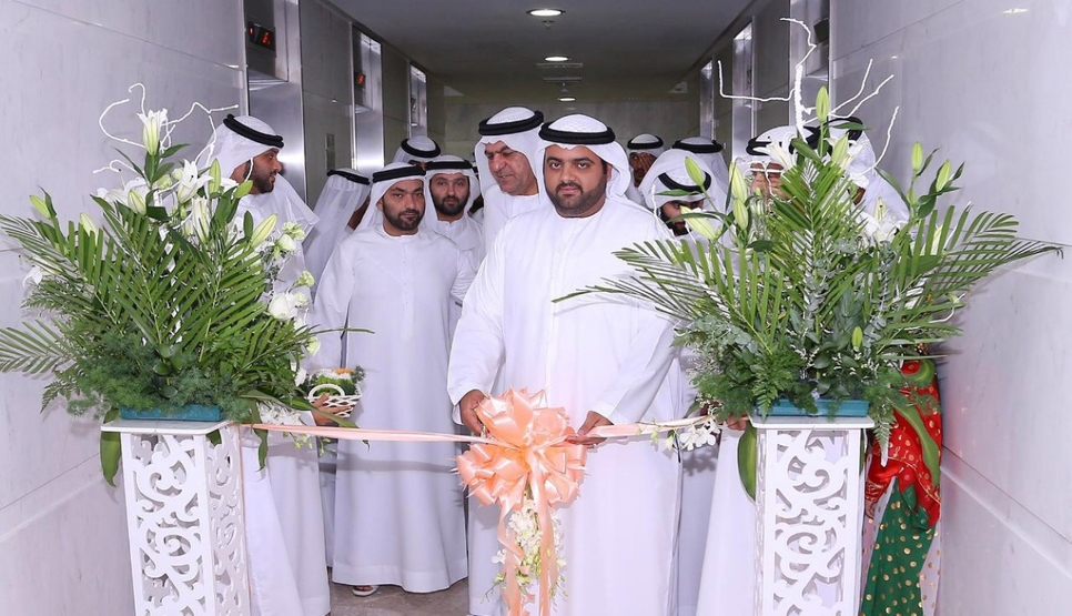 The opening of the new centre was presided over by HH Sheikh Mohammed bin Hamad bin Mohammed Al Sharqi, Crown Prince of Fujairah [image: MoFAIC].