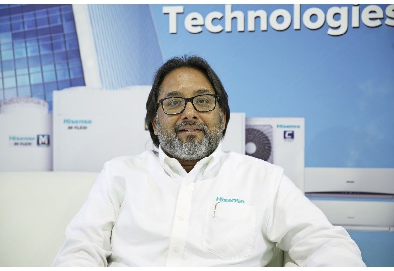 Moan Abraham, VP and GM for Air Conditioning atHisense Middle East.