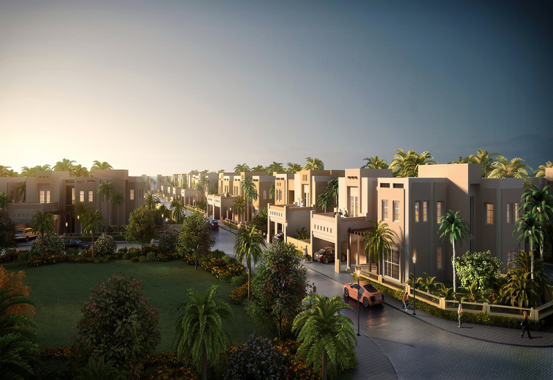 The residential area in Mudon is complemented by a sprawling 5,945sqm community centre.