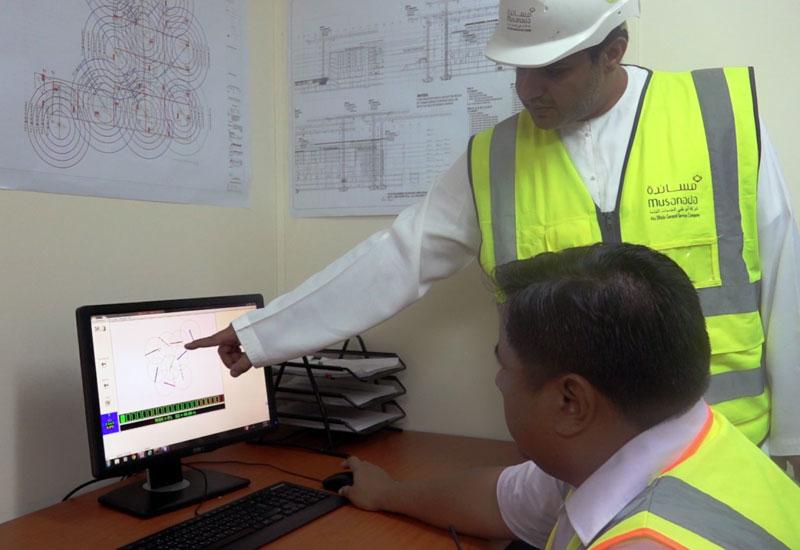 Musanada has deployed GPS systems within construction equipment. [Image: WAM]