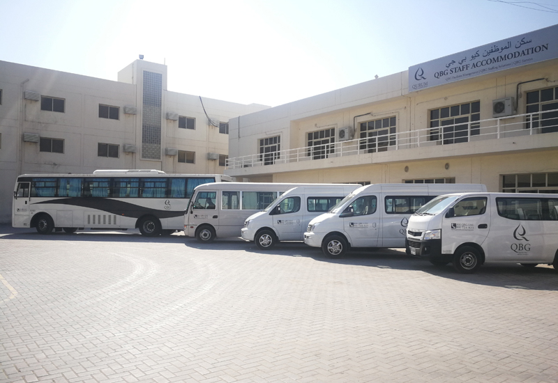 QBG's new fleet includes 130 vehicles.
