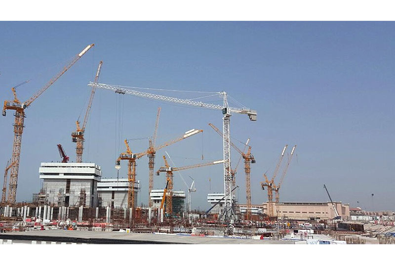 The first units of Potain MR 418 in the UAE have been delivered by NFT.