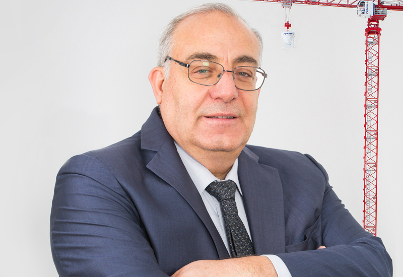 Nabil Al Zahlawi is the CEO and managing partner of the Abu Dhabi-based NFT Specialized in Tower Cranes, which has been in business for 35 years.