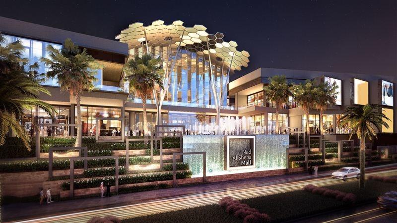Nad Al Sheba Mall will serve as the centrepiece of Nakheel's Nad Al Sheba community [image: Dubai Media Office].