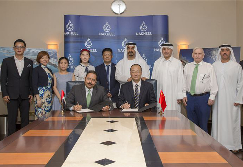 Nakheel signed the agreement with Beijing Water Design.