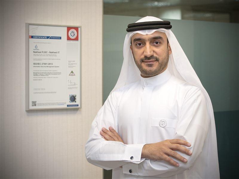 Nakheels chief information officer, Ahmed Ebrahim Al Ahmad.