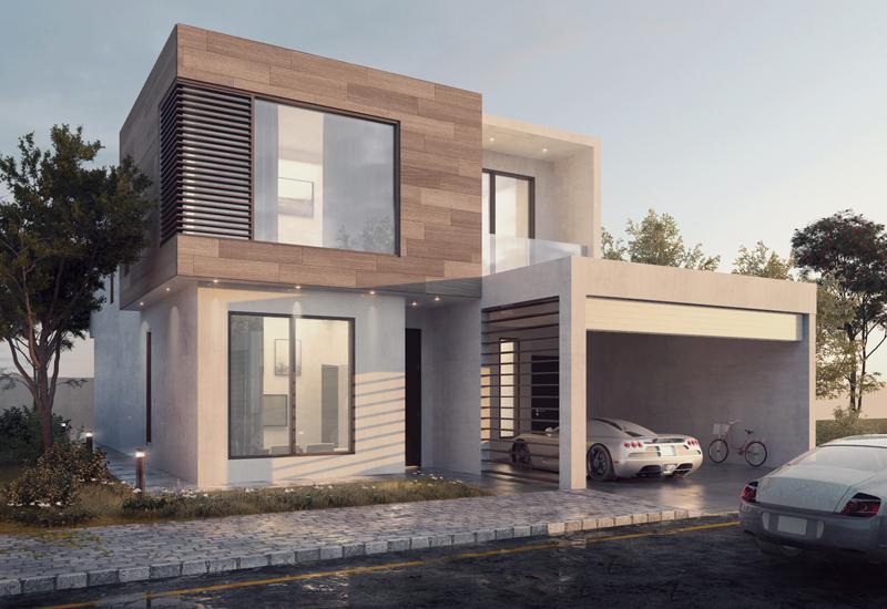 Nasma Residences masterplanned development in Sharjah.