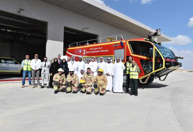 The station is the fifth to be operated at Abu Dhabi International Airport.