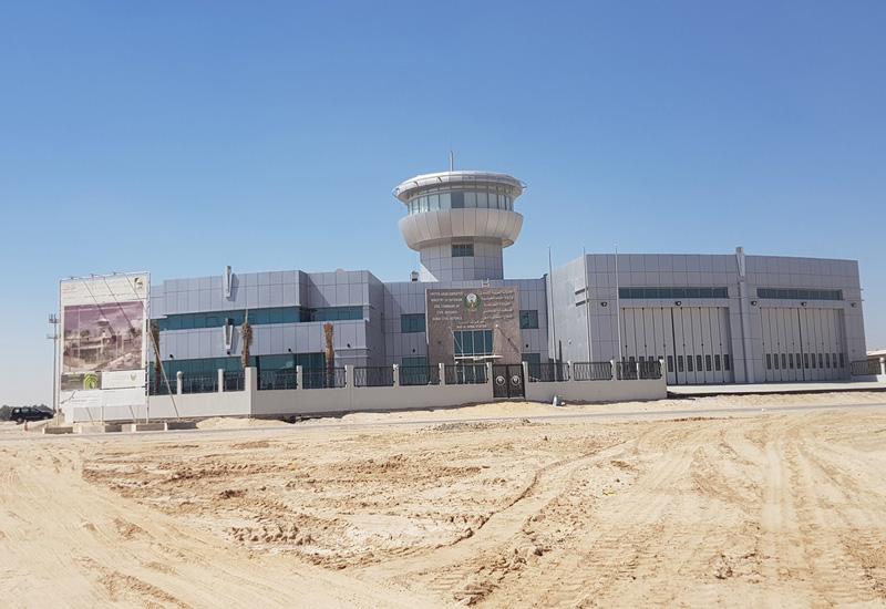 The newly-built Civil Defence station in Nad Al Shiba, Dubai.