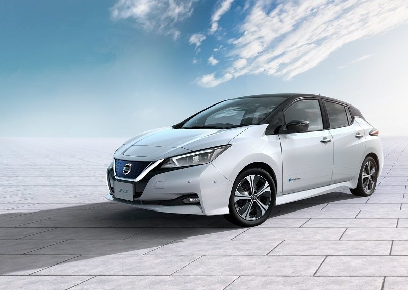 The new Nissan Leaf was launched in October 2017 in Europe.
