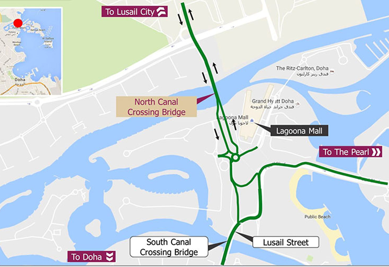 The North Canal Crossing Bridge will be 200 metres long with the upgrade due to be completed in the final quarter of 2017.