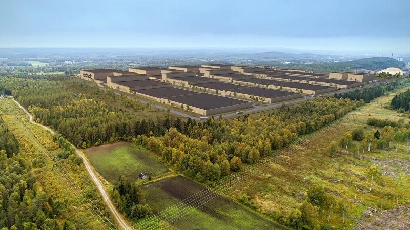 Northvolt is building the next generation battery factory in Sweden.