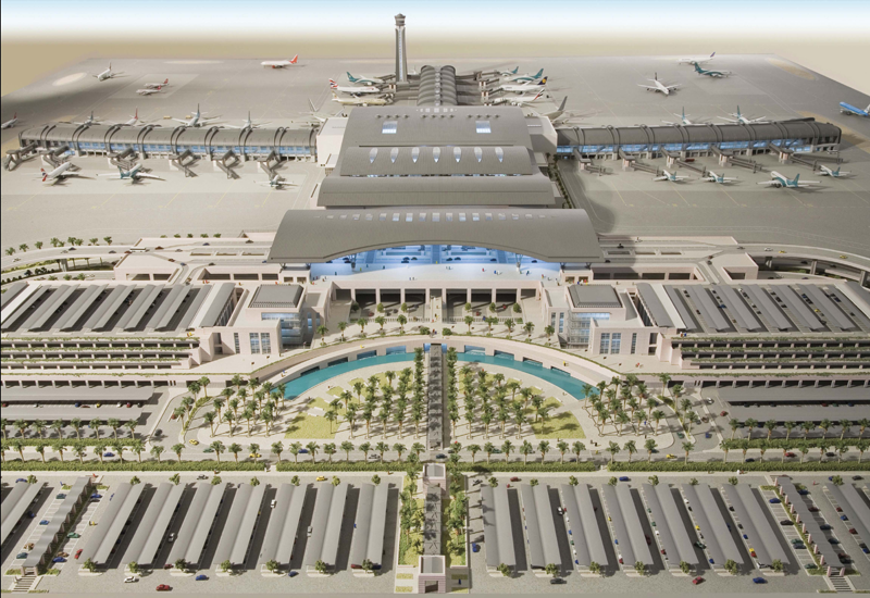 Expansion is currently underway at the Muscat International airport.