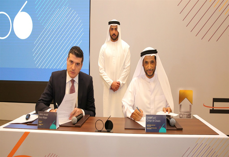The agreement was signed by Issa Ataya, managing director of Alef Group, and Omar Al Owais, founding partner and CEO of OMIS Contracting.
