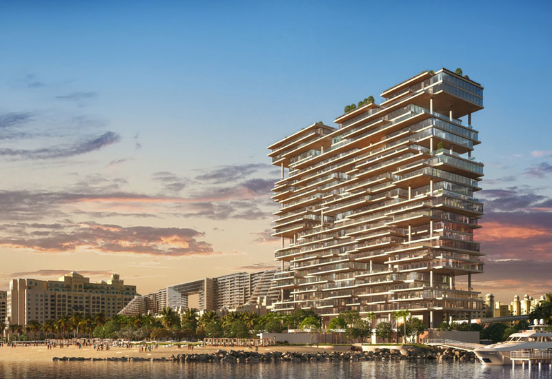 Brookfield Multiplex has been appointed by Omniyat to build the $544m One at Palm Jumeirah development within two years.