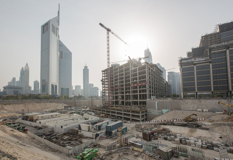 In Pictures: Construction of One Central, Dubai