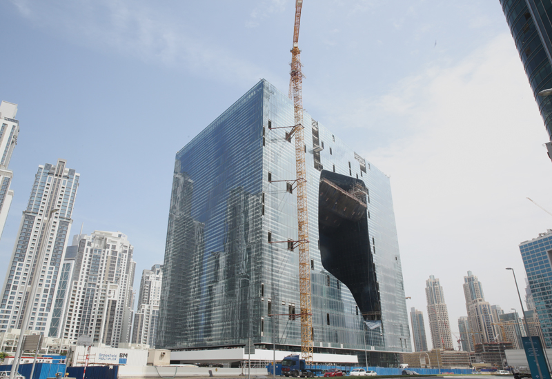 The Opus is the fist building designed by Dame Zaha Hadid in Dubai.