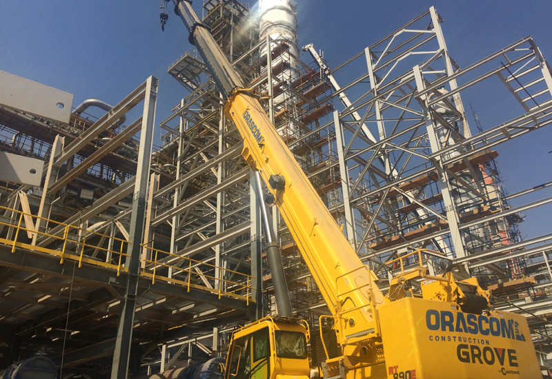 Orascom Construction (OC) has purchased 24 Grove rough-terrain cranes, most of which have been dispatched to work at power plants and oil refineries.