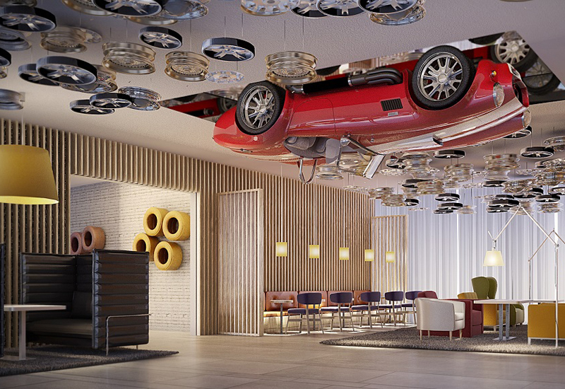 Park Inn by Radisson Motor City, Dubai.