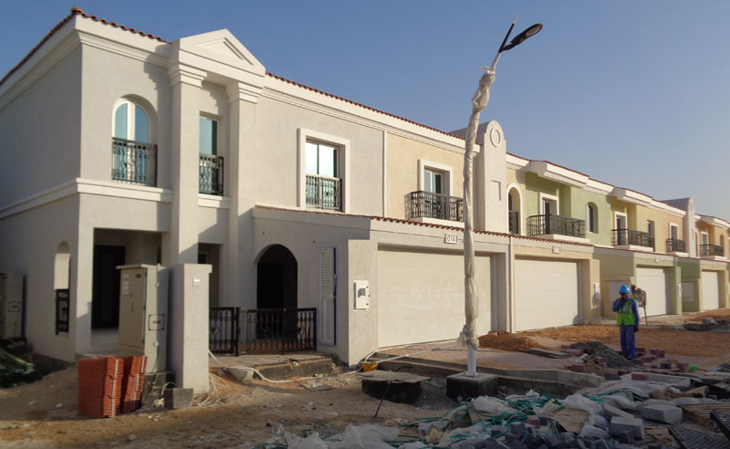 Dubai Investments is in the process of completing and handing over the Green Community DIP – West Phase III project.
