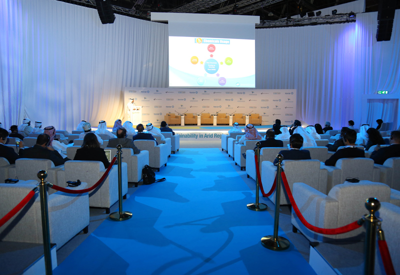 Presentation in the new Dialogue Hall at WFES 2018.