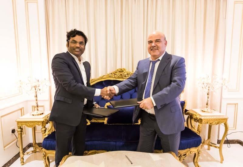 Prestige Constructions and Azizi Developments sign contract for Azizi Riviera Phase 3.
