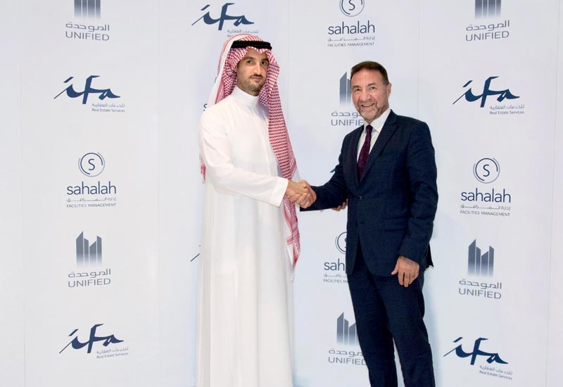 H.H. Prince Bandar Bin Khaled Al Saud and Joe Sita.