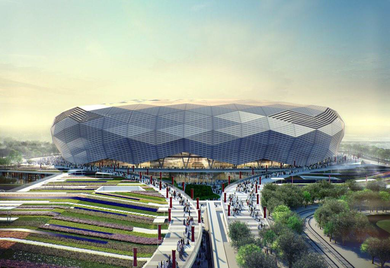 The stadium will have a tournament capacity of 40,000.