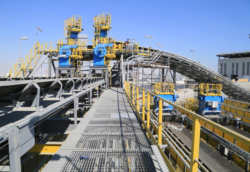 Six Construct completed QPMC's Gabbro Terminal in consortium with FLSmidth.