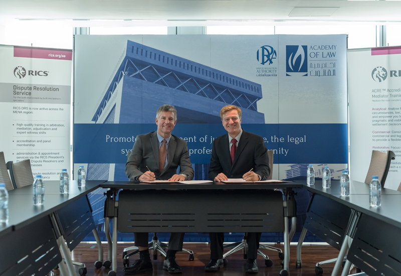RICS and DIFC Academy of Law will deliver a specialist mediation course in the UAE.
