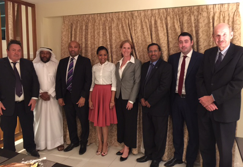 RICS has appointed 10 new board members in Qatar, including chair of the RICS board, Cassandra Francis.