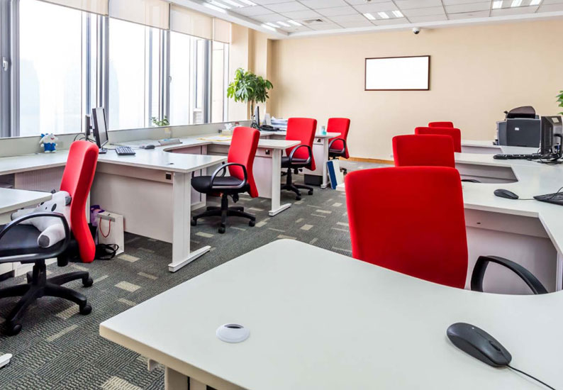 Over three quarters of respondents to the RICS and MECO survey said that greater flexibility in office design would improve their productivity.