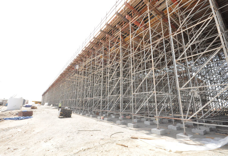 Salini worked with RMD Kwikform to devise a combined formwork strategy for the construction of bridges along the under-construction Abu Dhabi-Dubai highway, P311.