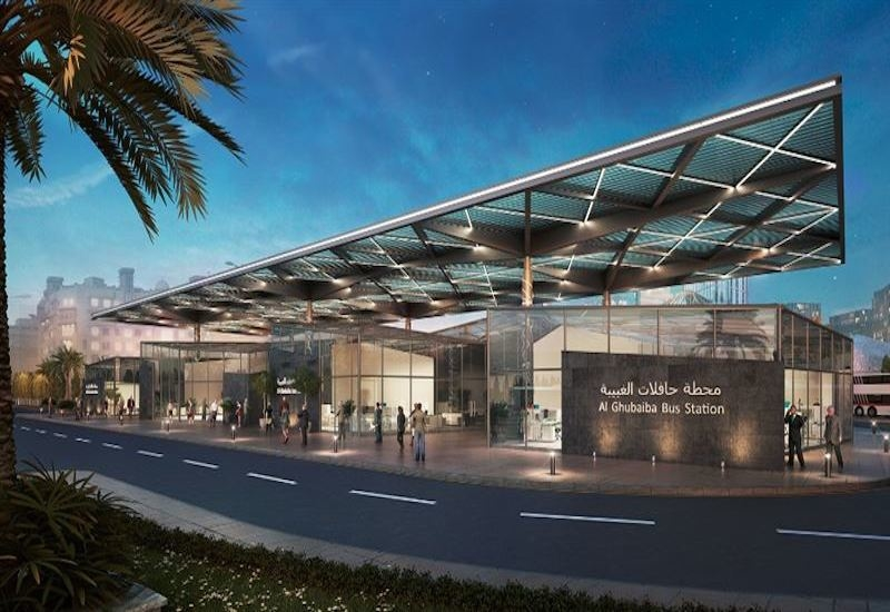 The final designs for Expo 2020 Dubai's bus stations have been approved by the RTA [image: Dubai Media Office].