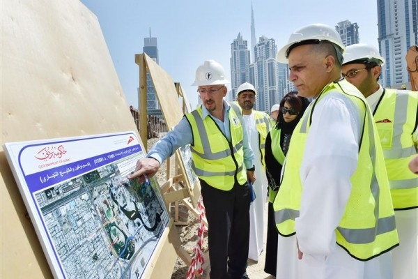 Phase 1 of RTA's Parallel Roads Improvement Project is 85% complete [image: WAM].