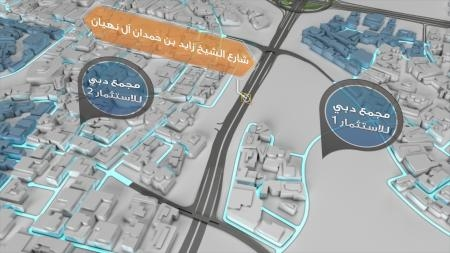 The project aims to ensure a smooth flow of traffic for Expo 2020 visitors.