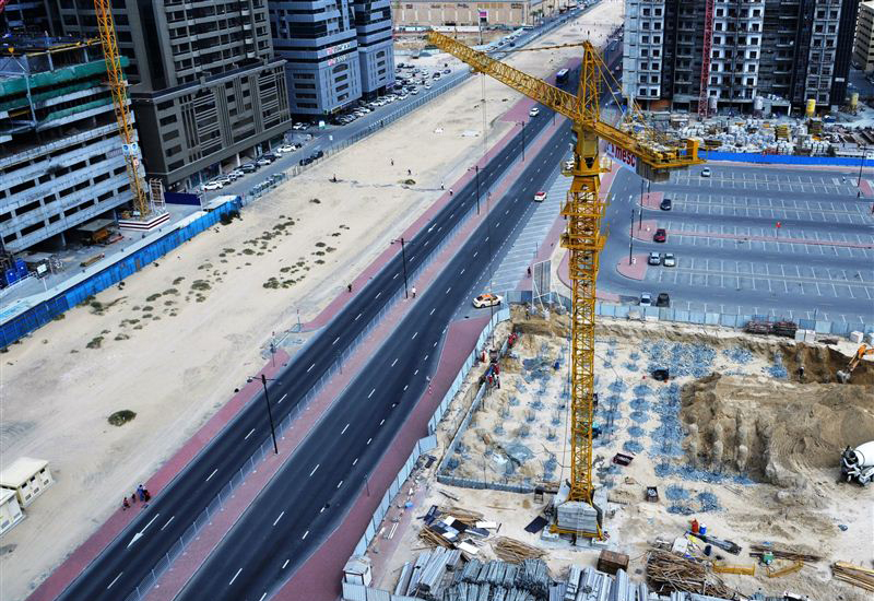 RTA has completed the construction of $227.3m internal roads [Image: Dubai Media Office].