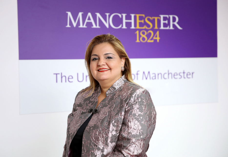 Randa Bessiso, director-Middle East, The University of Manchester.