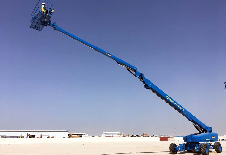 The Genie SX-135 XC boom lift is the first of its kind in the Middle East, and a number of units in the Rapid order will represent firsts for the Kuwait market.