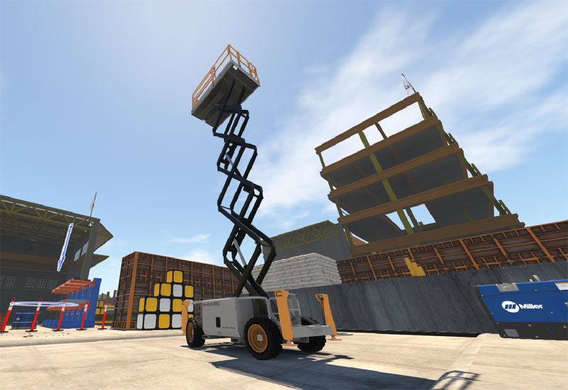 Rapid Access will provide the VR simulators for the Middle East's construction contractors [image: pmvmiddleeast.com].